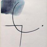 Gottfried Fabian, Tusche und Aquarell auf Papier